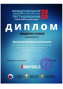 Образовательная акция «Международное предпринимательское тестирование»