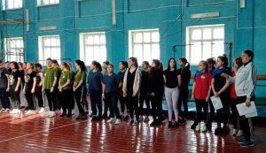 Спортивно-развлекательный конкурс «Вперёд, девчонки!».