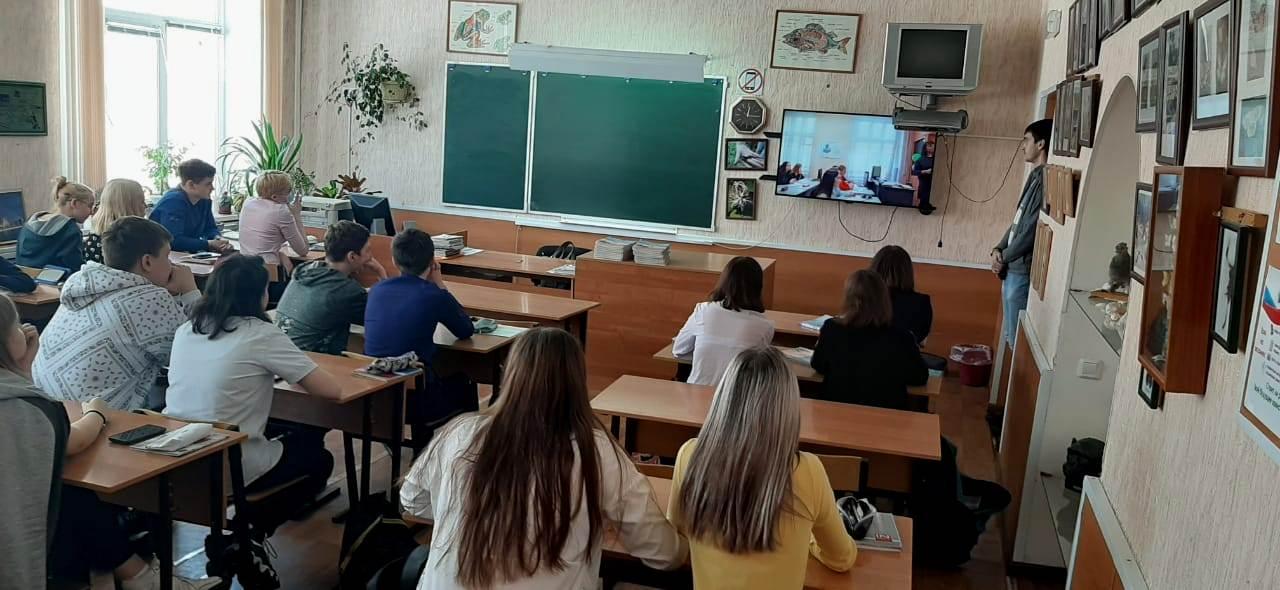 Профориентационная работа в МБОУ «Лицей № 36» г. Осинники.