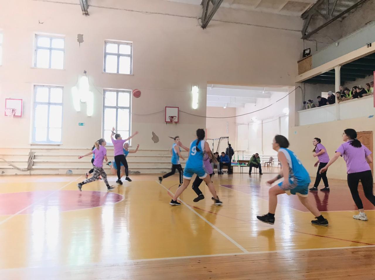 Спартакиада Южного территориального Совета директоров по баскетболу среди девушек
