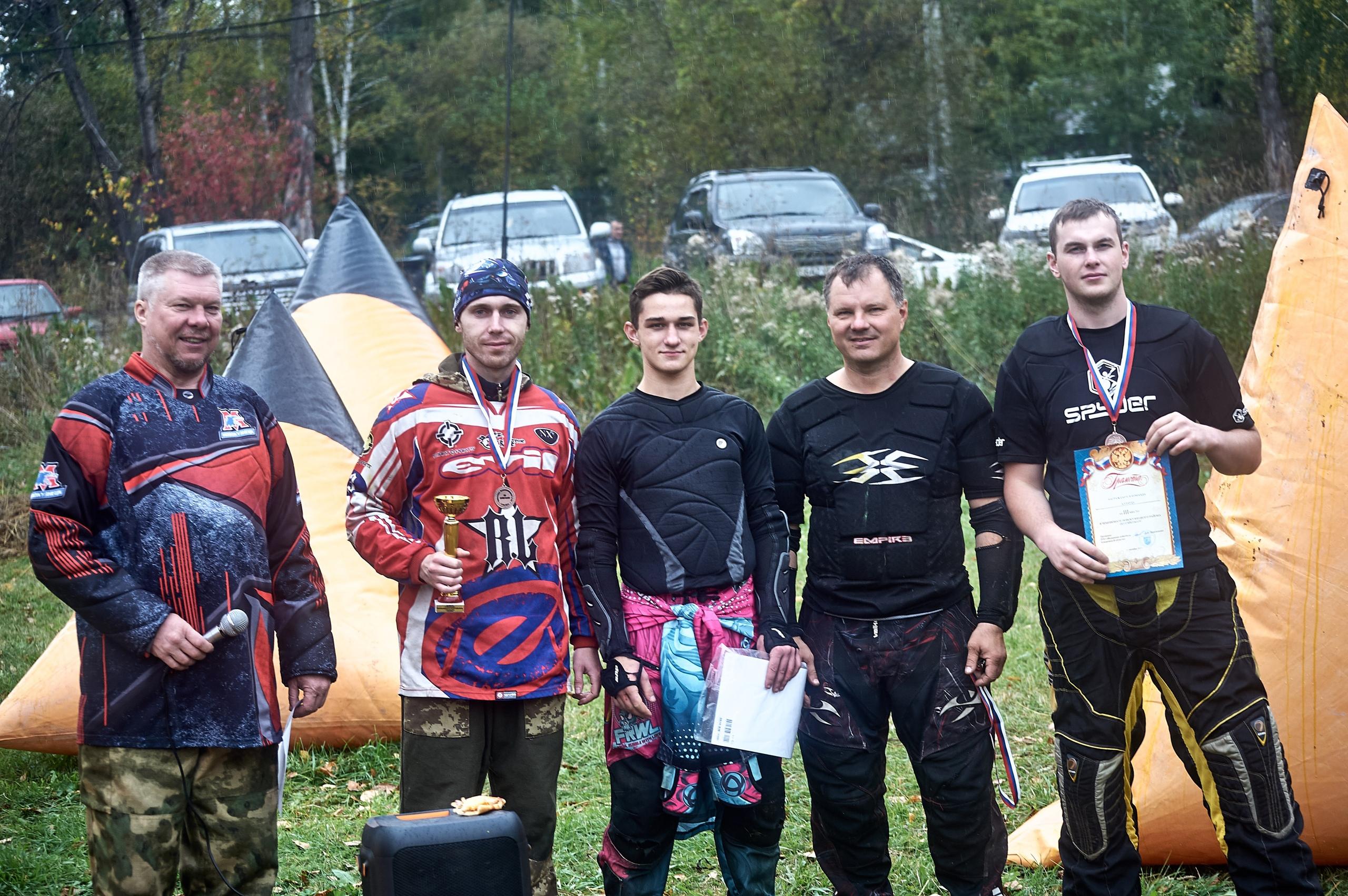 «Чемпионат Новокузнецкого района по-спортивному пэйнтболу»